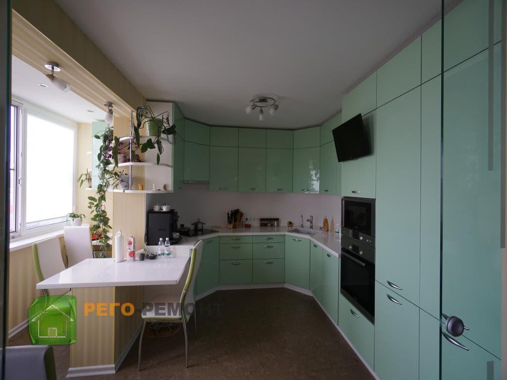 образцы ремонта кухни фото - фото 8