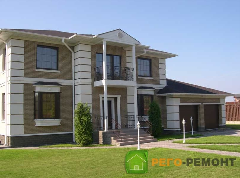 Готовые проекты двухэтажных домов и коттеджей